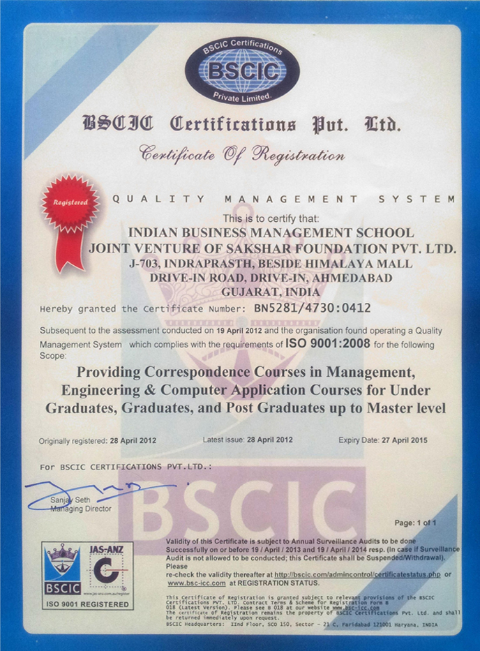 Indian business management school australia and new zealand responsible for providing accreditation of conformity assessment bodies cabs in the fields of certification and inspection yelopaper Images